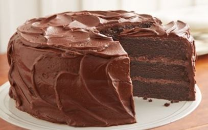 Perfectly chocolate cake